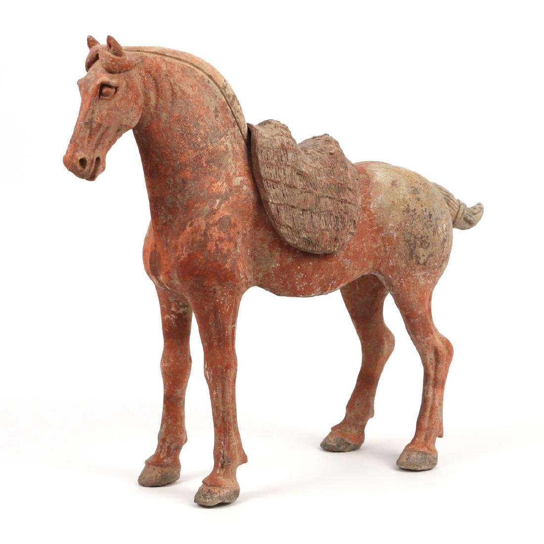 TANG DYNASTY CAPARISONED HORSE