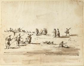 (Attrib.) GIACAMO GUARDI (Italian, 1764-1835)