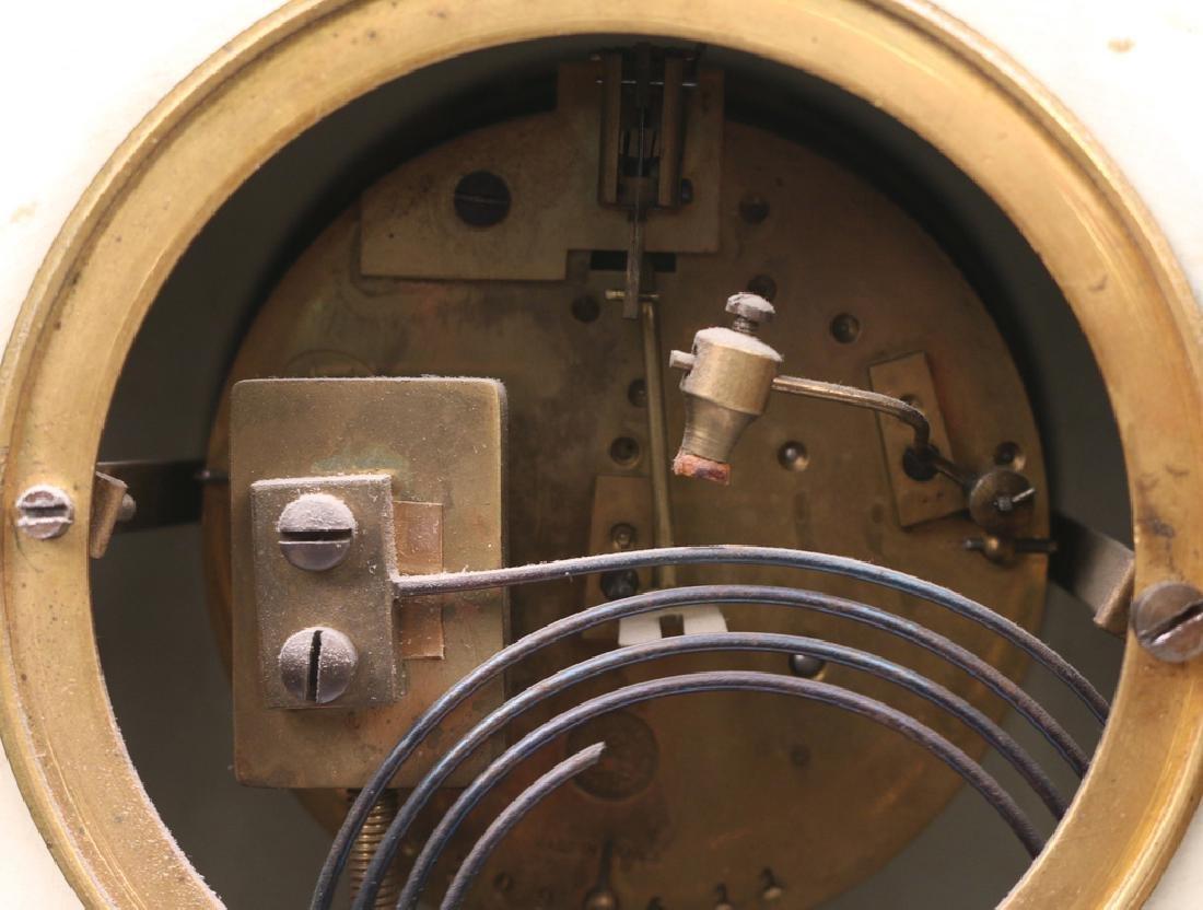 JAPY FRERES ROYAL BONN PORCELAIN MANTEL CLOCK - 7