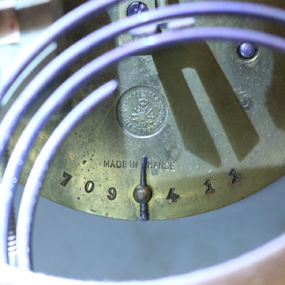 JAPY FRERES ROYAL BONN PORCELAIN MANTEL CLOCK - 8