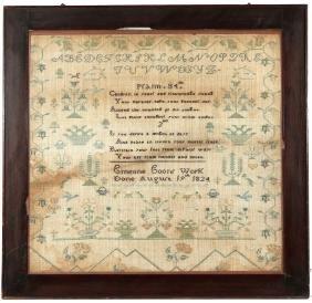 LARGE 1824 SAMPLER
