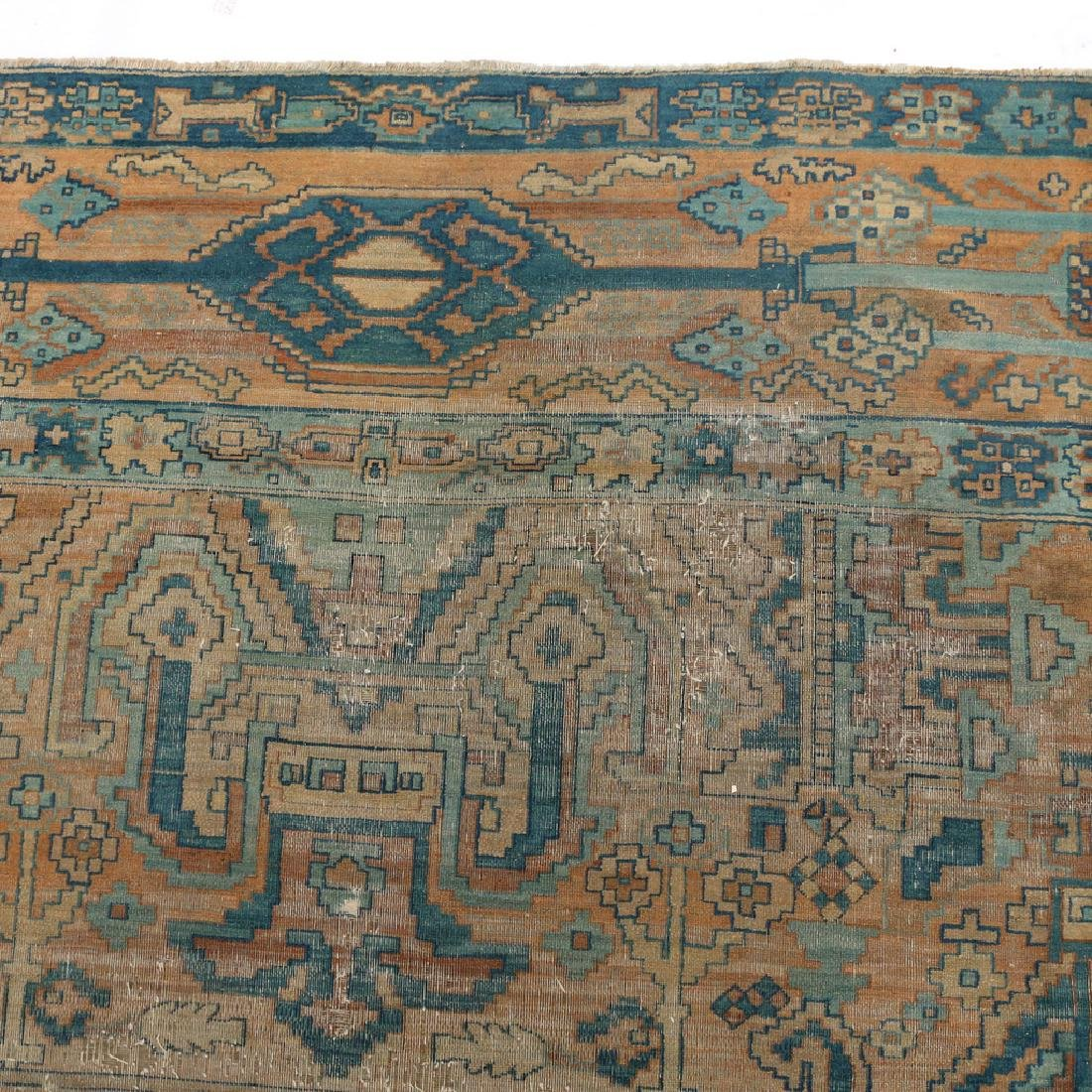UNUSUAL PERSIAN OR INDIAN GEOMETRIC CARPET - 5