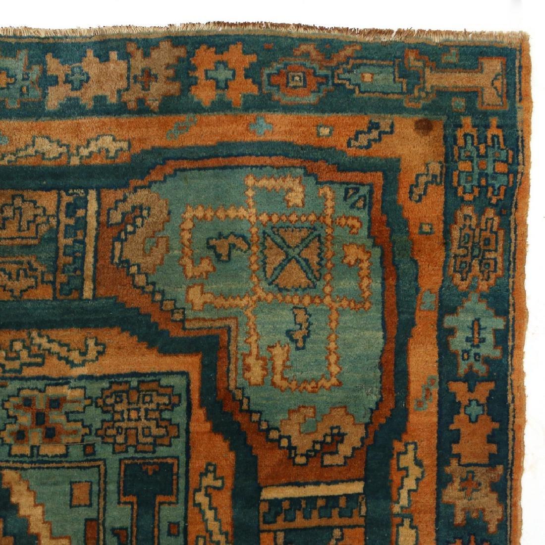 UNUSUAL PERSIAN OR INDIAN GEOMETRIC CARPET - 7
