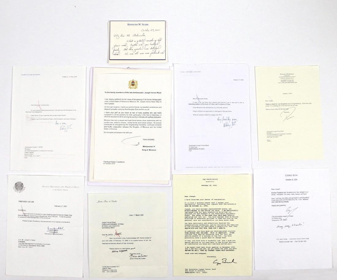 U.S. AMBASSADOR'S COLLECTION OF SIGNATURES - 5