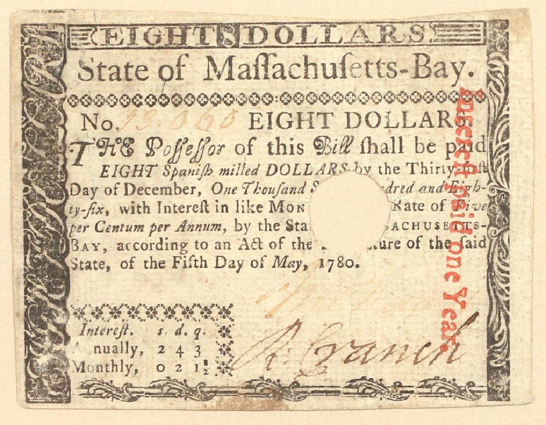(3pc) COLONIAL CURRENCY - 2