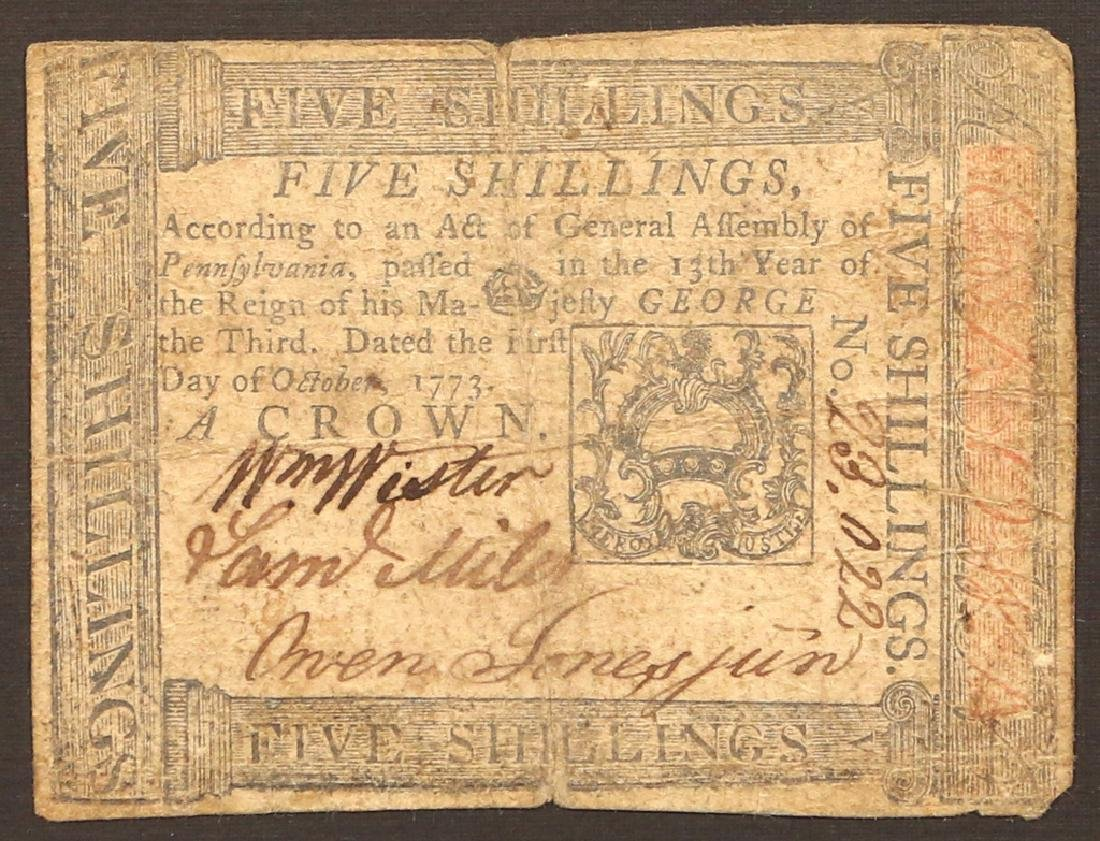(3pc) COLONIAL CURRENCY - 4