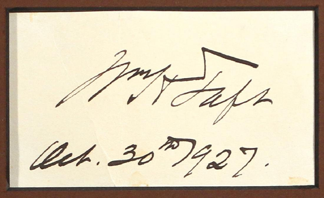(5pc) AMERICAN PRESIDENTIAL SIGNATURES - 4