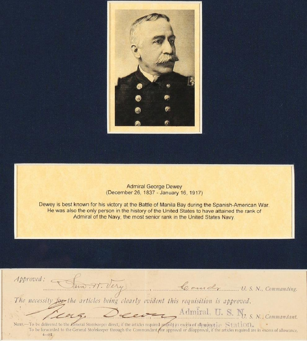 (5pc) U.S. SUPREME COURT & NAVAL AUTOGRAPHS - 3