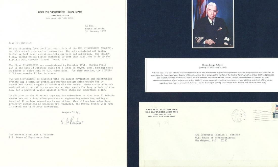 (5pc) U.S. SUPREME COURT & NAVAL AUTOGRAPHS - 5