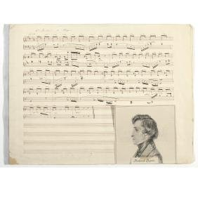 [CHOPIN, FREDERIC (1810-1849)]