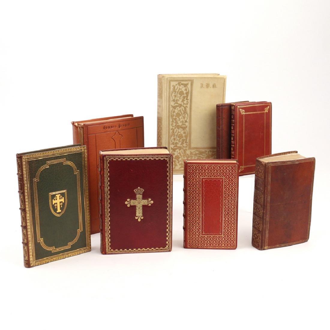 (8vols) [FINE BINDINGS] CHRISTIAN BOOKS