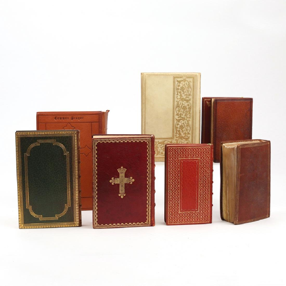 (8vols) [FINE BINDINGS] CHRISTIAN BOOKS - 2