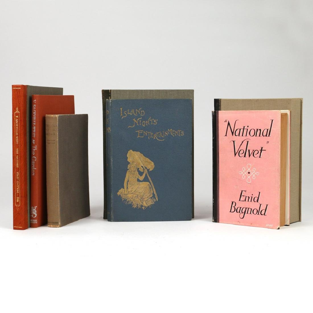 (4vol) MISC. FIRST EDITION BOOKS
