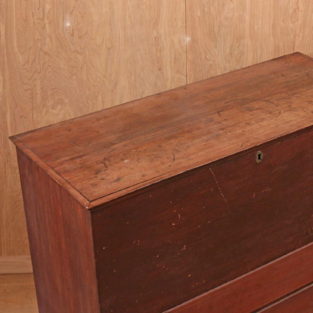AMERICAN PINE AND MAPLE MULE CHEST - 2