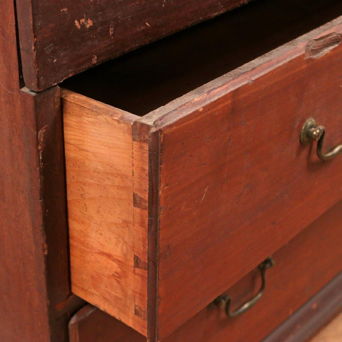 AMERICAN PINE AND MAPLE MULE CHEST - 4