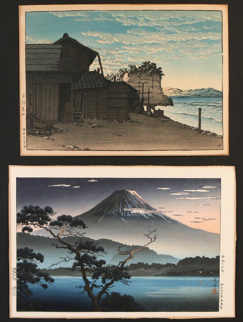(5pc) MISC. JAPANESE WOODBLOCK PRINTS - 3