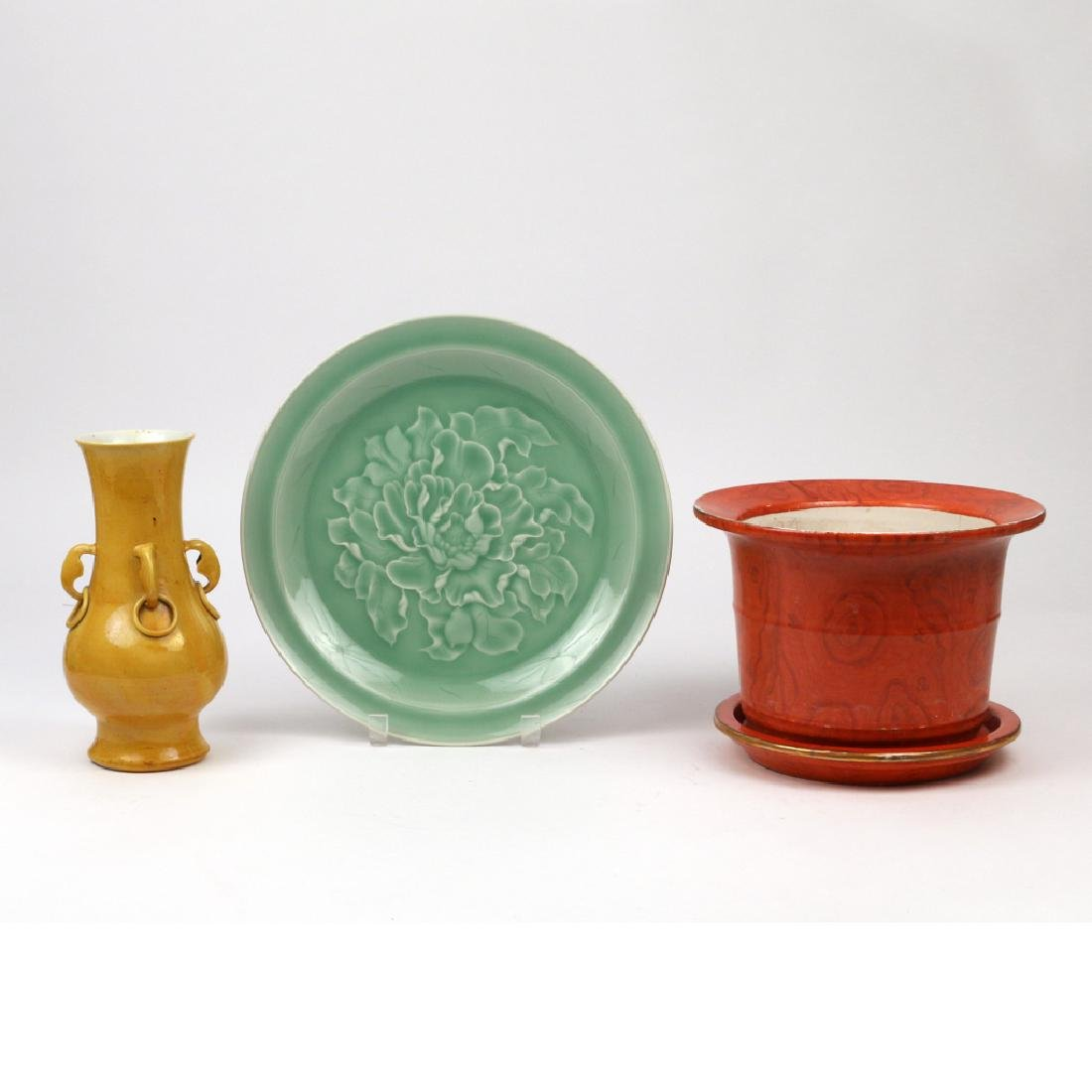(4pc) MISC. CHINESE PORCELAIN