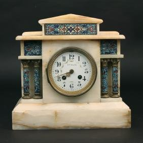 A. STOWELL & Co. MANTEL CLOCK