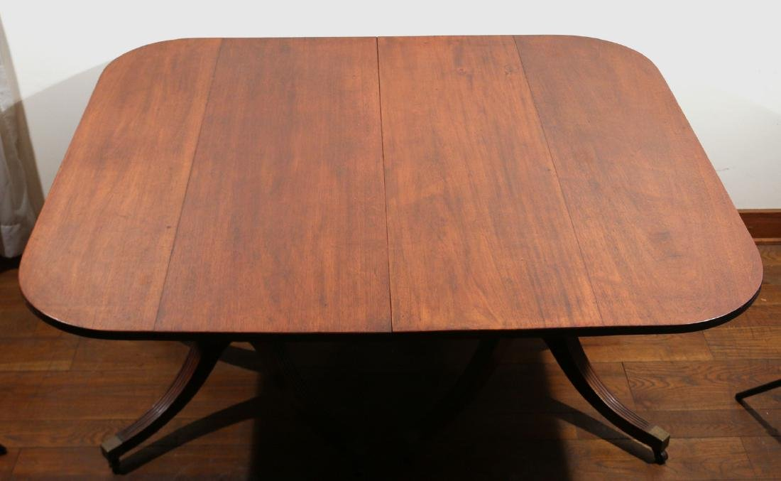 WILLIAM IV DOUBLE-PEDESTAL DINING TABLE - 2