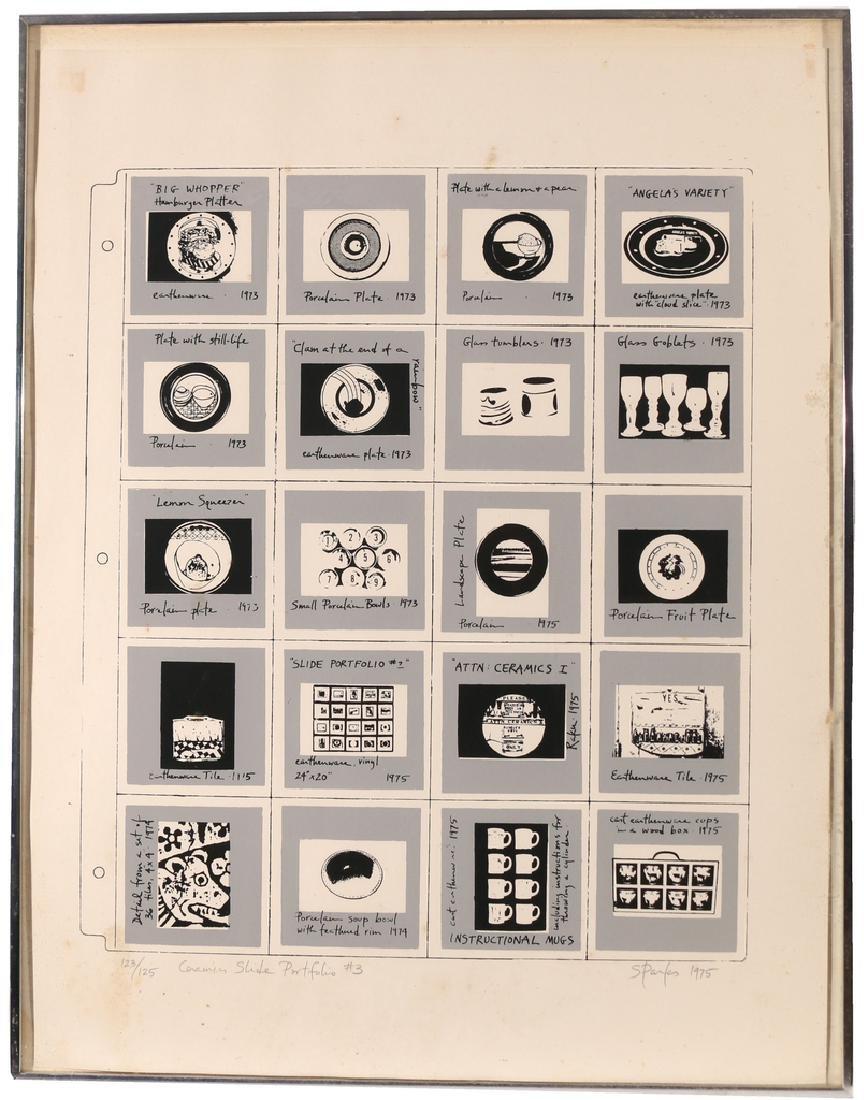 (4pc) MODERNIST LITHOGRAPHS - 6
