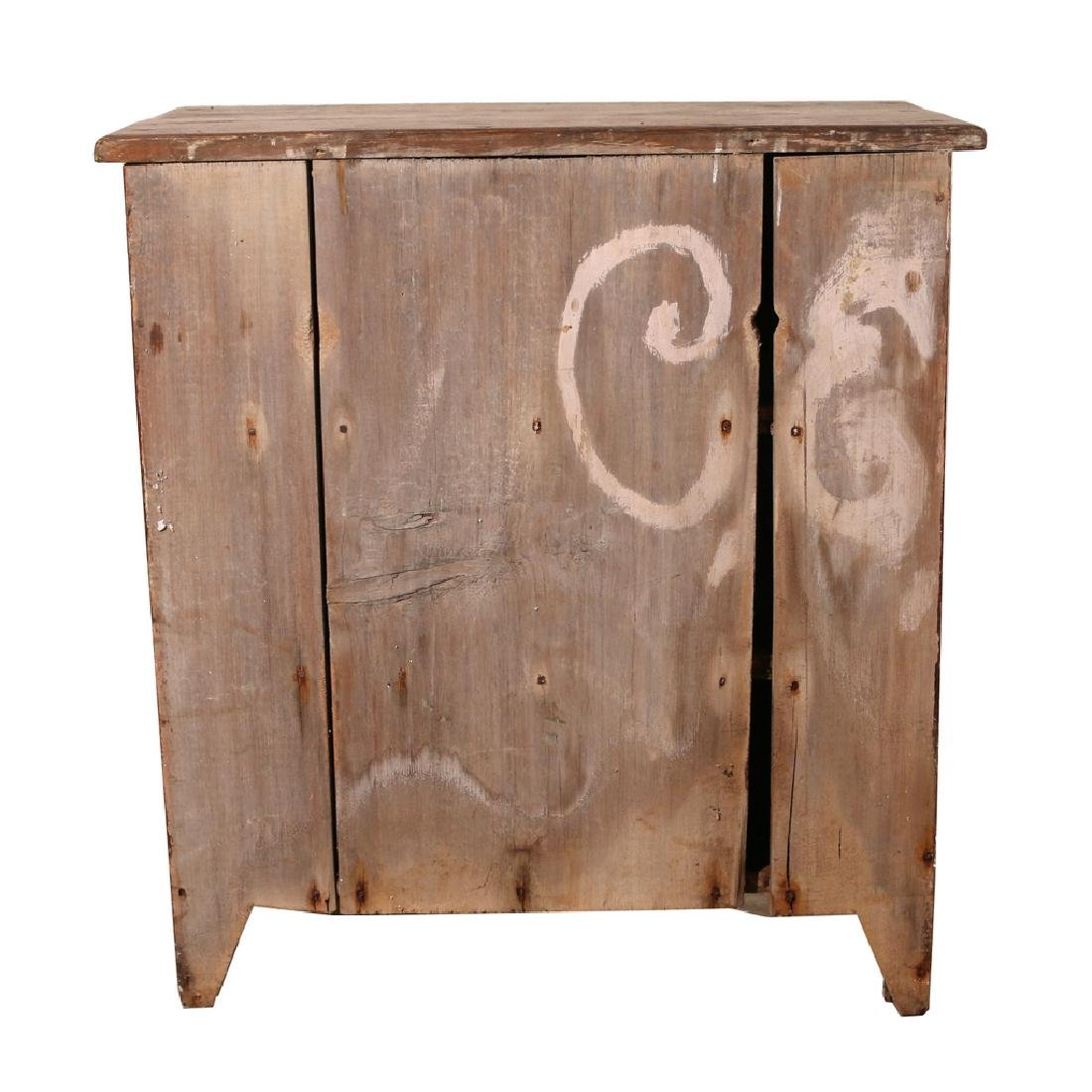 AMERICAN COUNTRY HALF CUPBOARD - 7