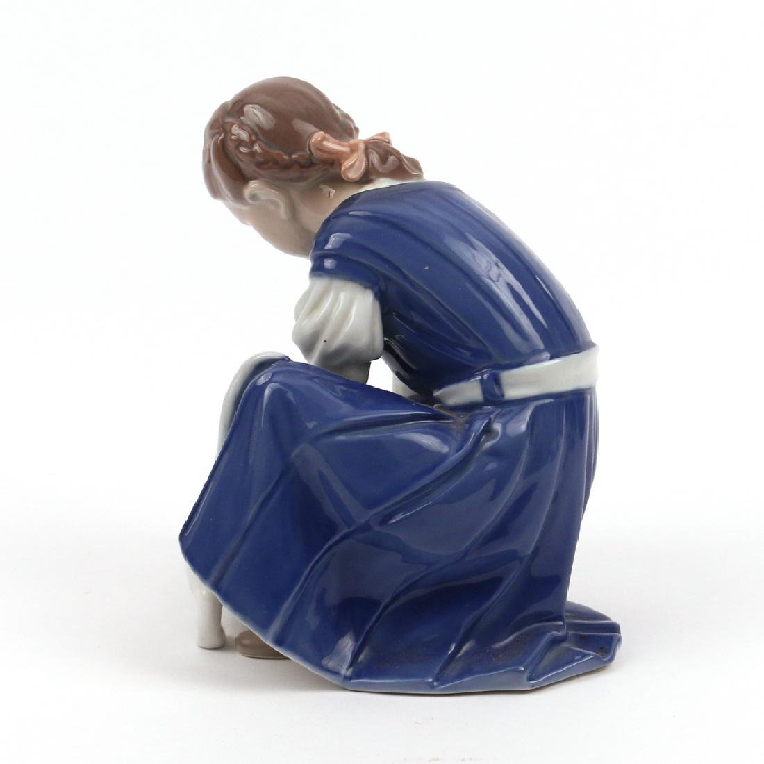 (3pc) MISC. ROYAL COPENHAGEN FIGURINES - 8