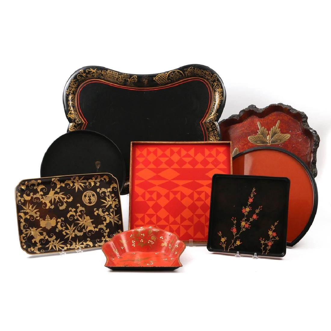 (8pc) MISC. TRAYS