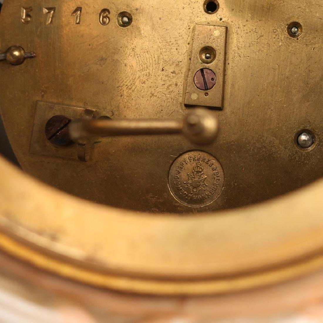 (2pc) PORCELAIN MANTEL CLOCKS - 7