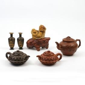(6pc) MISC. ASIAN ITEMS