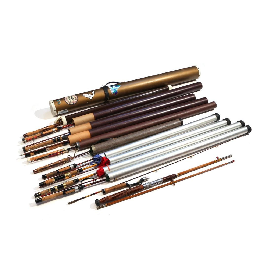 (13pc) SPIN FISHING RODS
