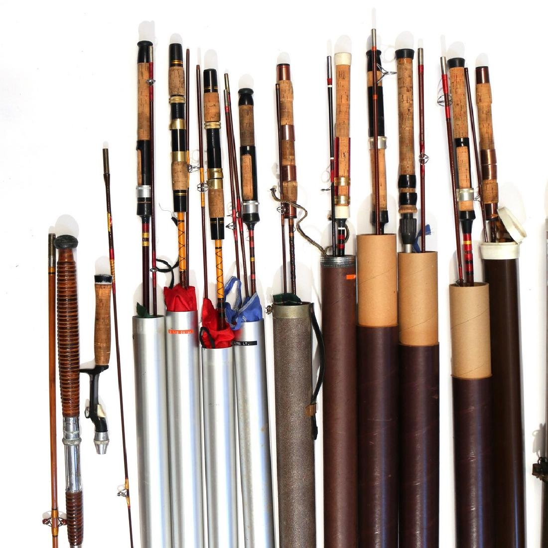 (13pc) SPIN FISHING RODS - 4