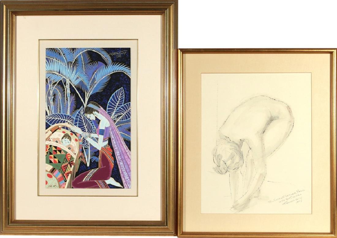 (2pc) FRAMED ARTWORK