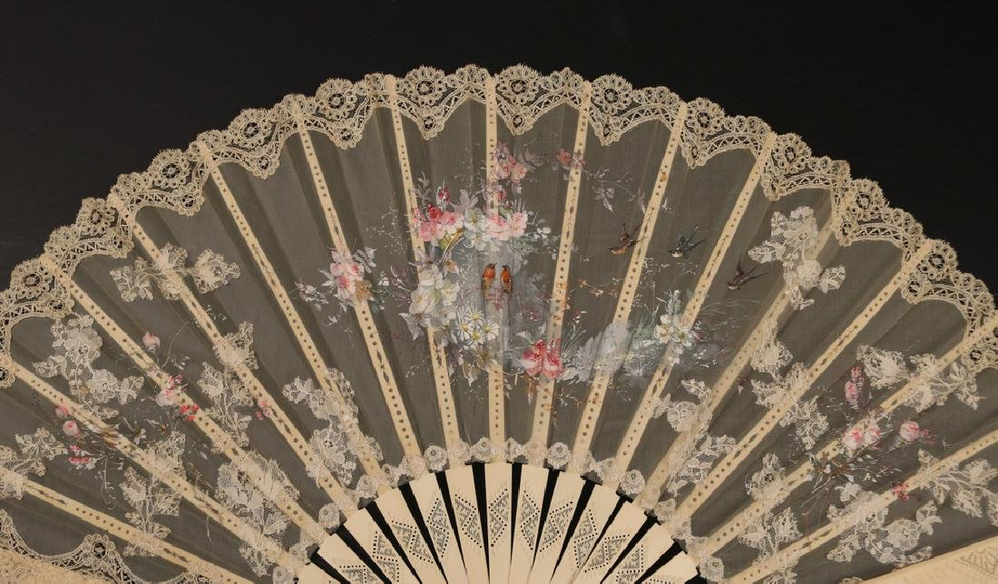(6pc) LOT FANCY FANS - 6