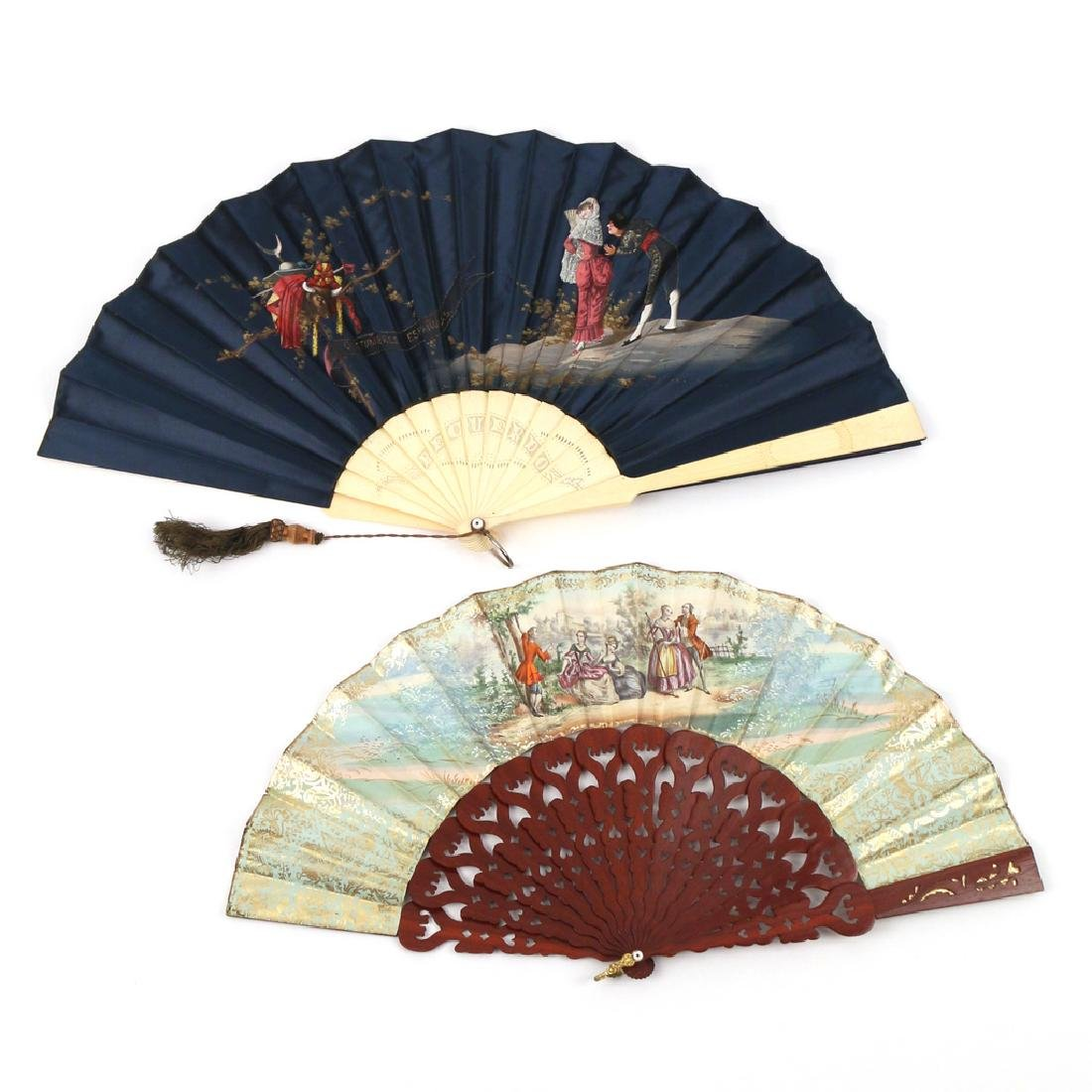 (6pc) LOT FANCY FANS - 9