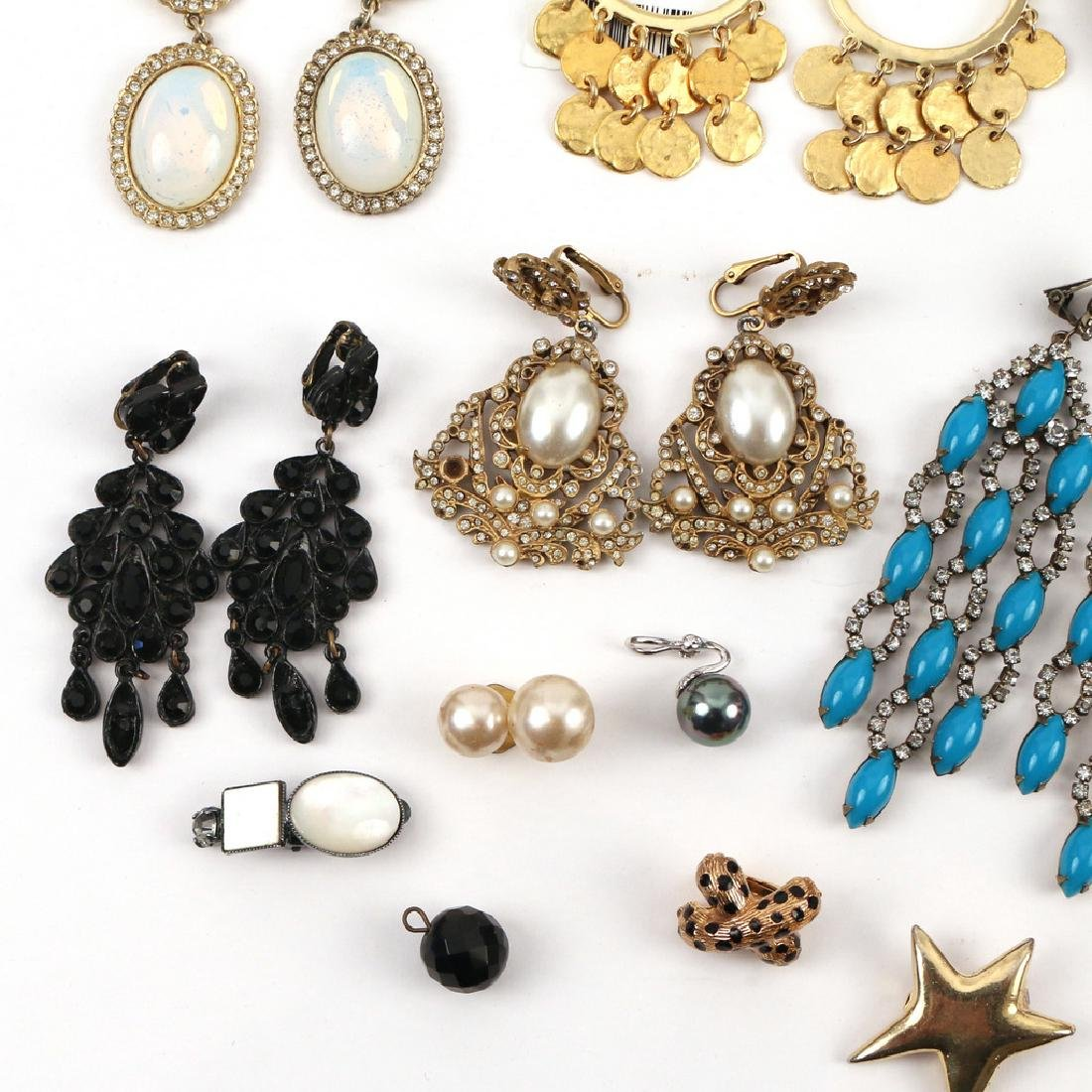 (30pc) MISC. COSTUME DROP & OTHER EARRINGS - 2