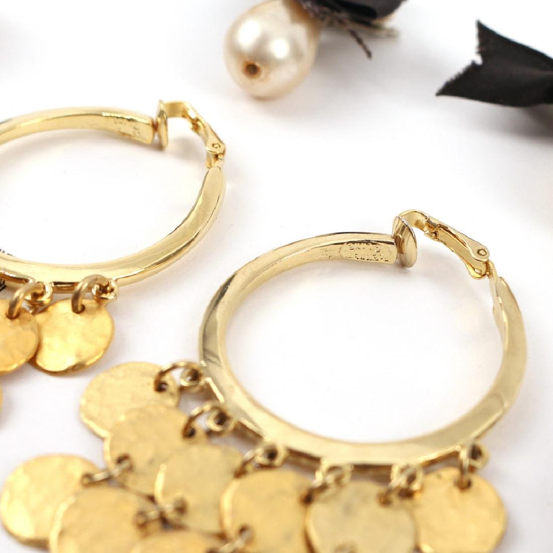(30pc) MISC. COSTUME DROP & OTHER EARRINGS - 6