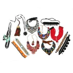 (13pc) COSTUME NECKLACES AND OTHER