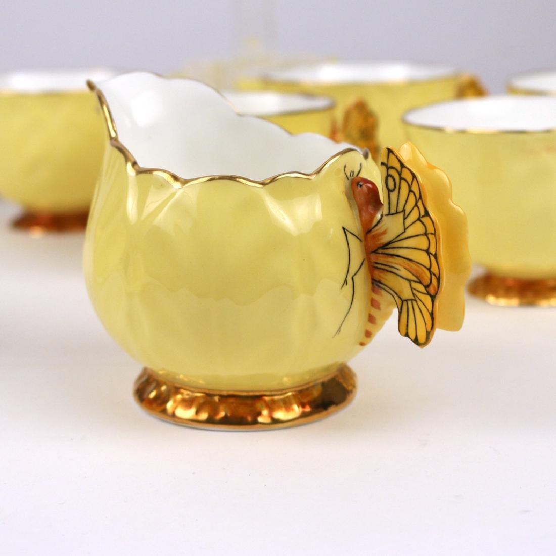 (22pc) AYNSLEY BONE CHINA TEA SET - 2