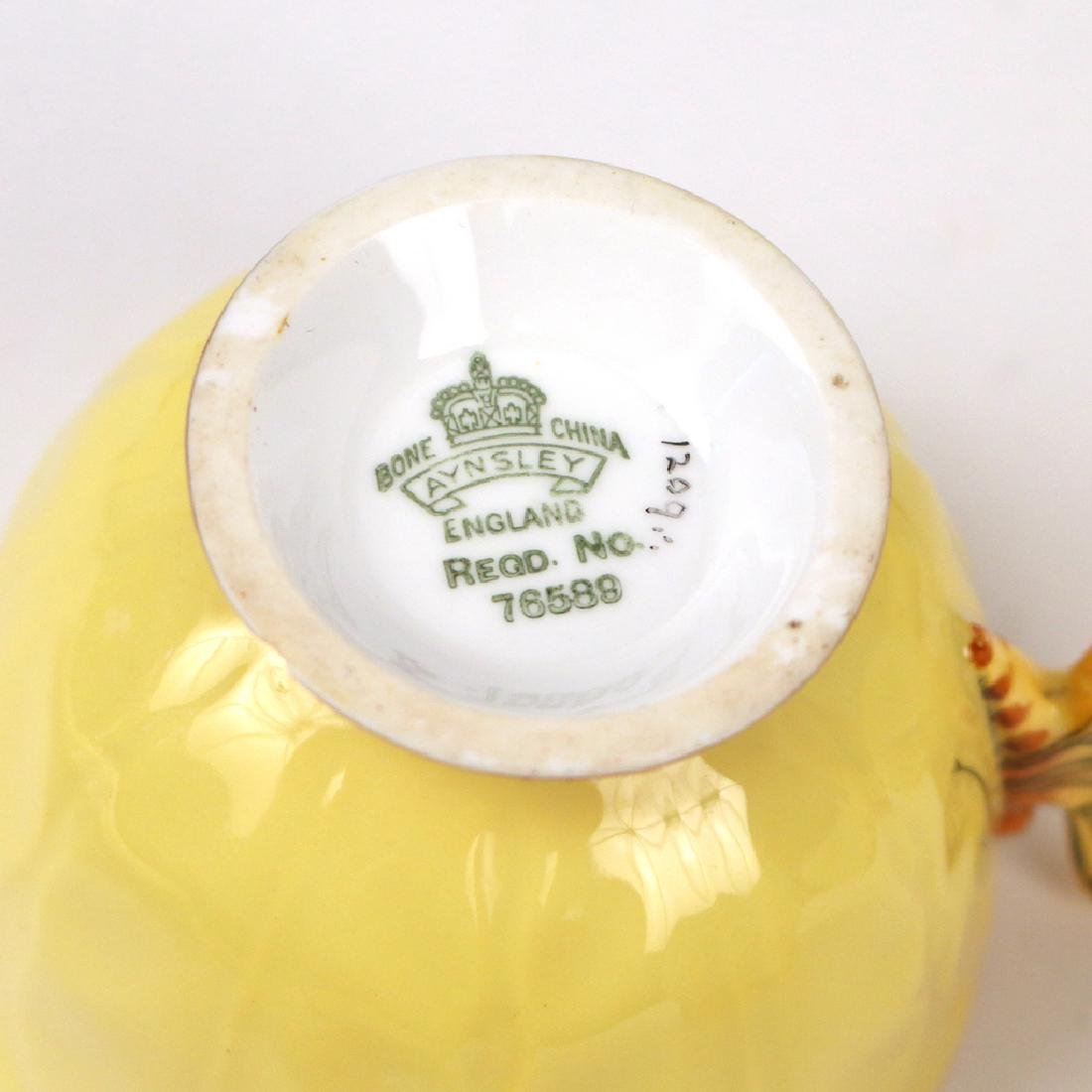 (22pc) AYNSLEY BONE CHINA TEA SET - 3