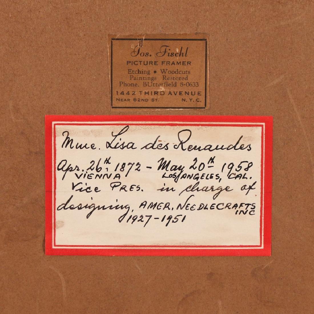 (2pc) MARIE OF ROMANIA SIGNED PORTRAIT - 5