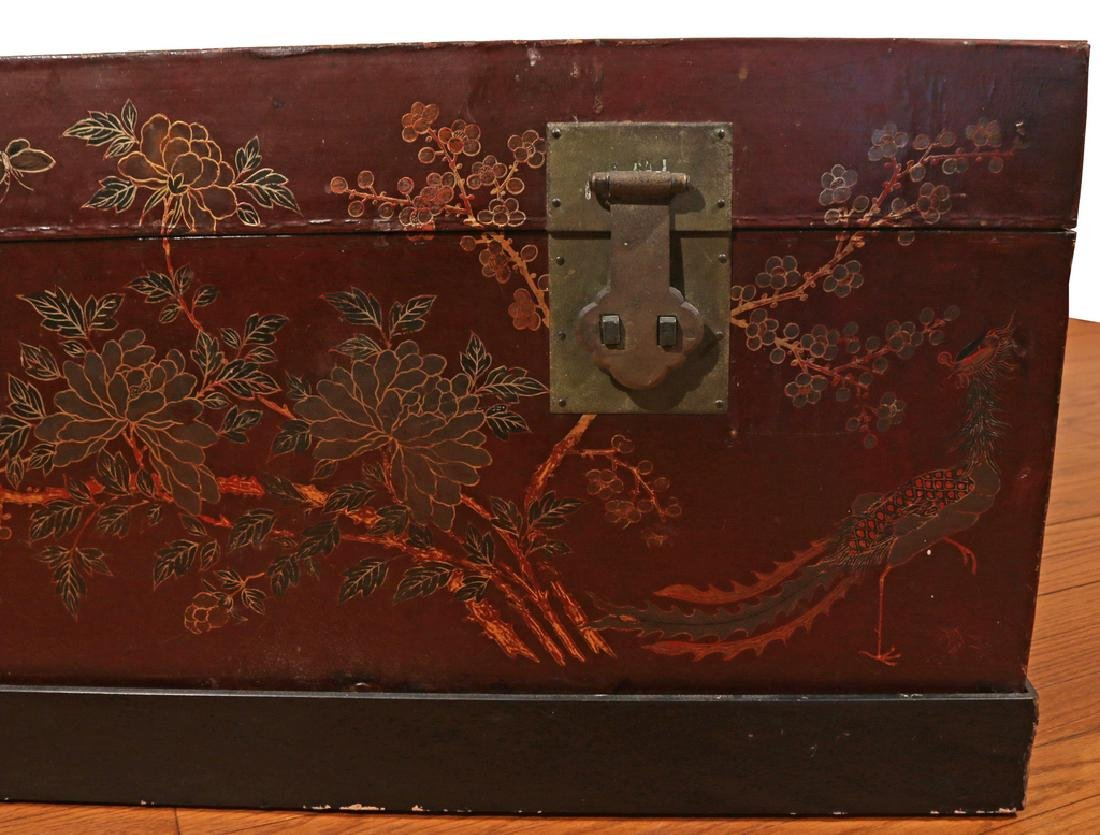 (3pc) JAPANESE LACQUERED CHESTS - 6