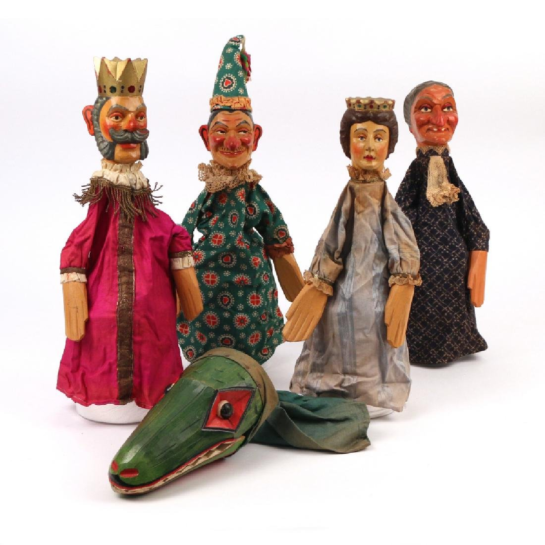 (5pc) GERMAN KASPERLE THEATER FIGURES - 6