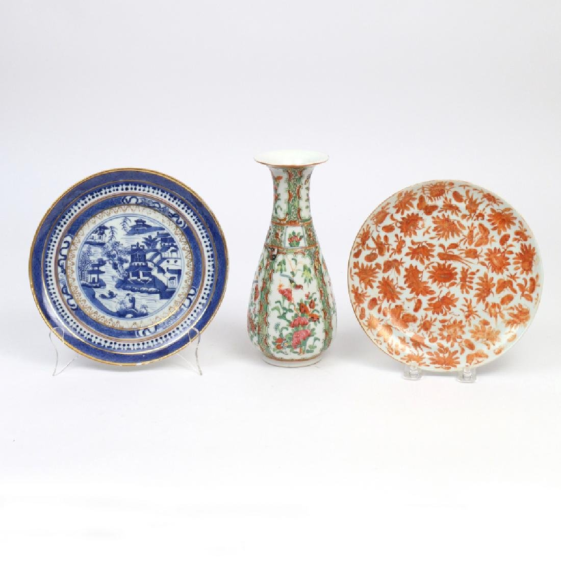 (3pc) CHINESE PORCELAIN