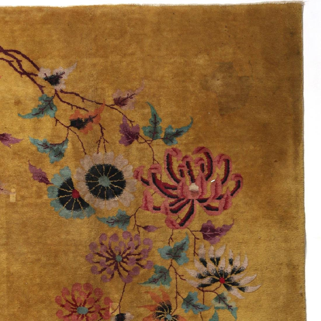 CHINESE ART DECO CARPET - 3