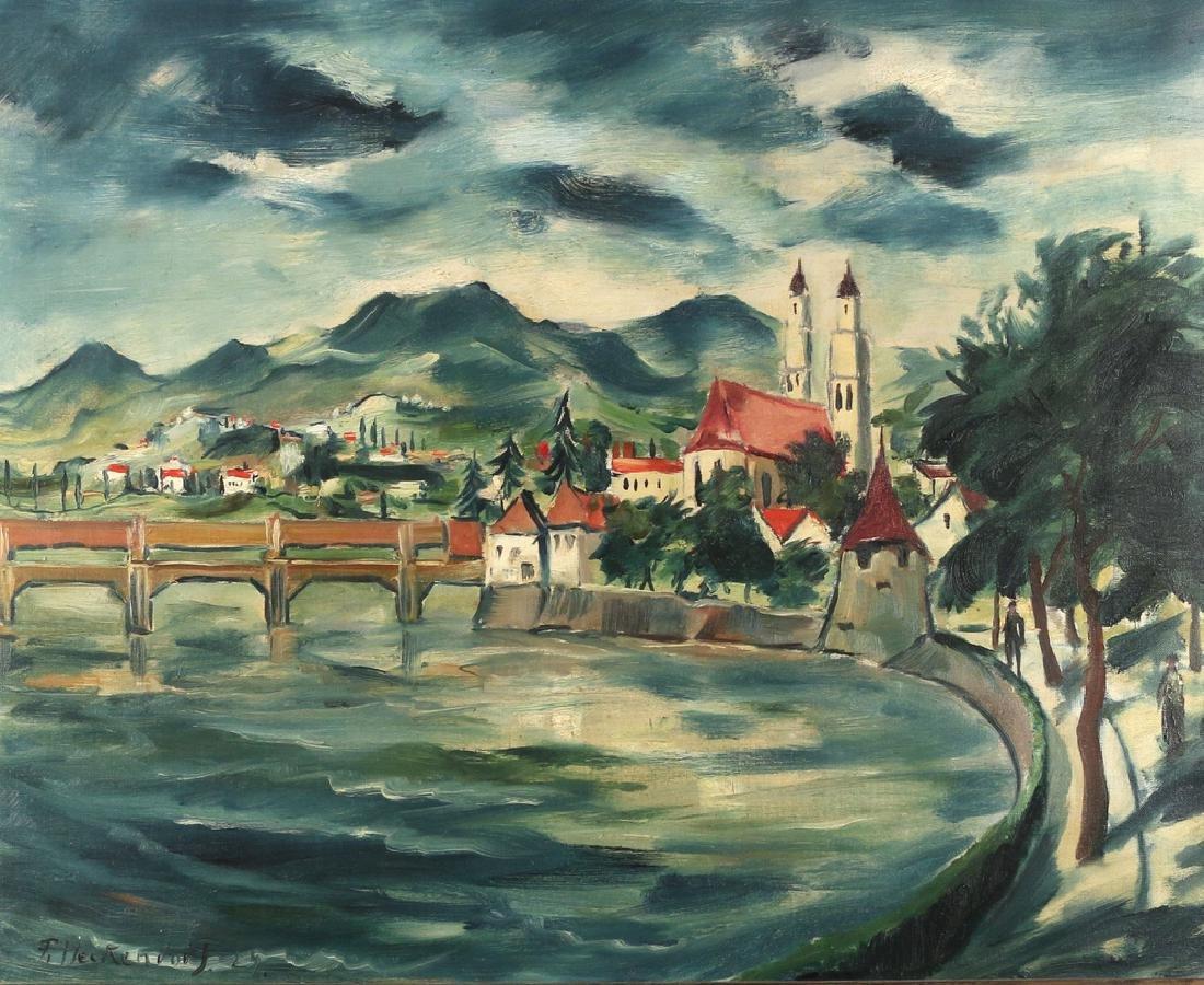 FRANZ HECKENDORF (German, 1888-1962)
