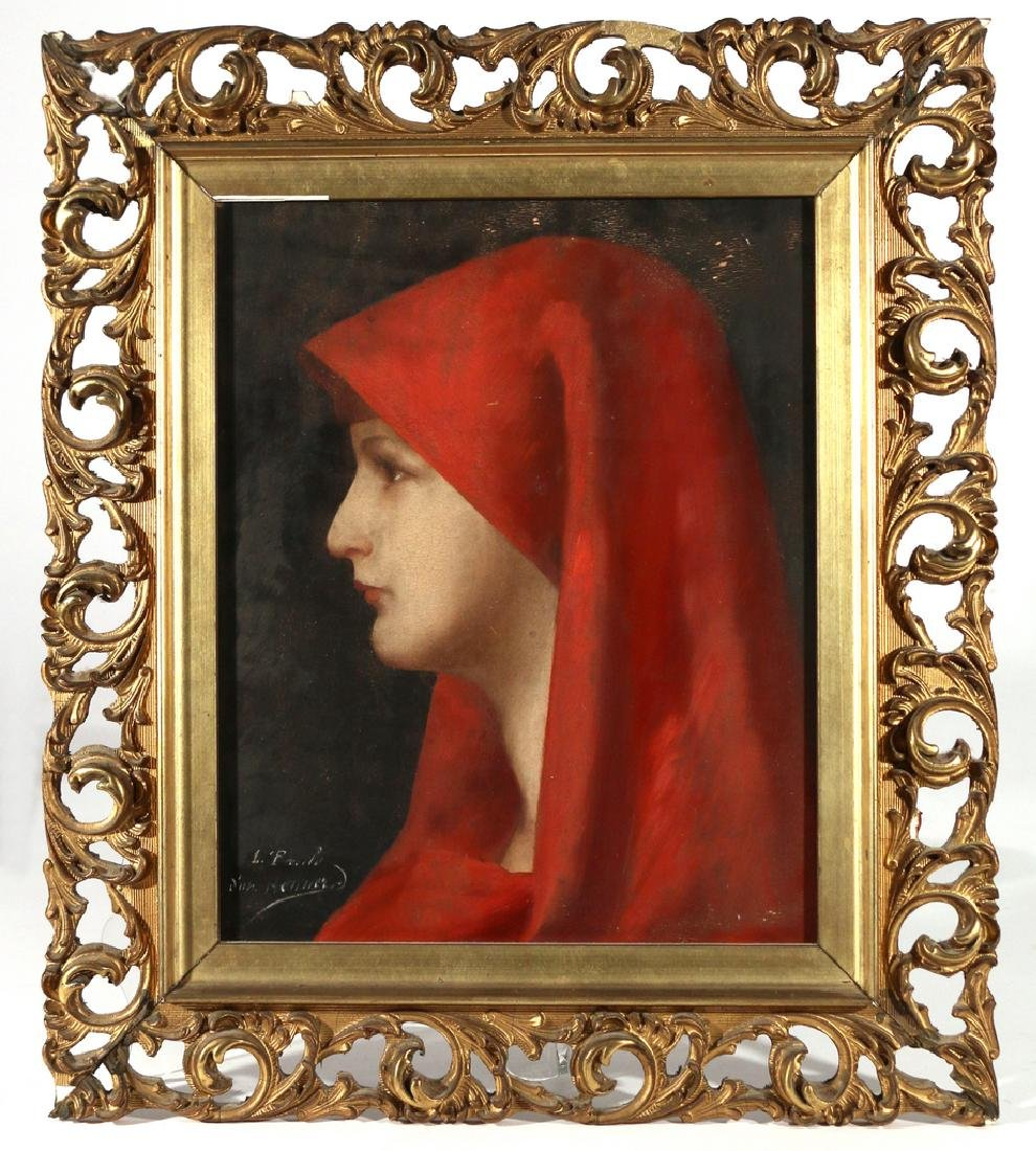 PORTRAIT OF ST. FABIOLA, 19th Century