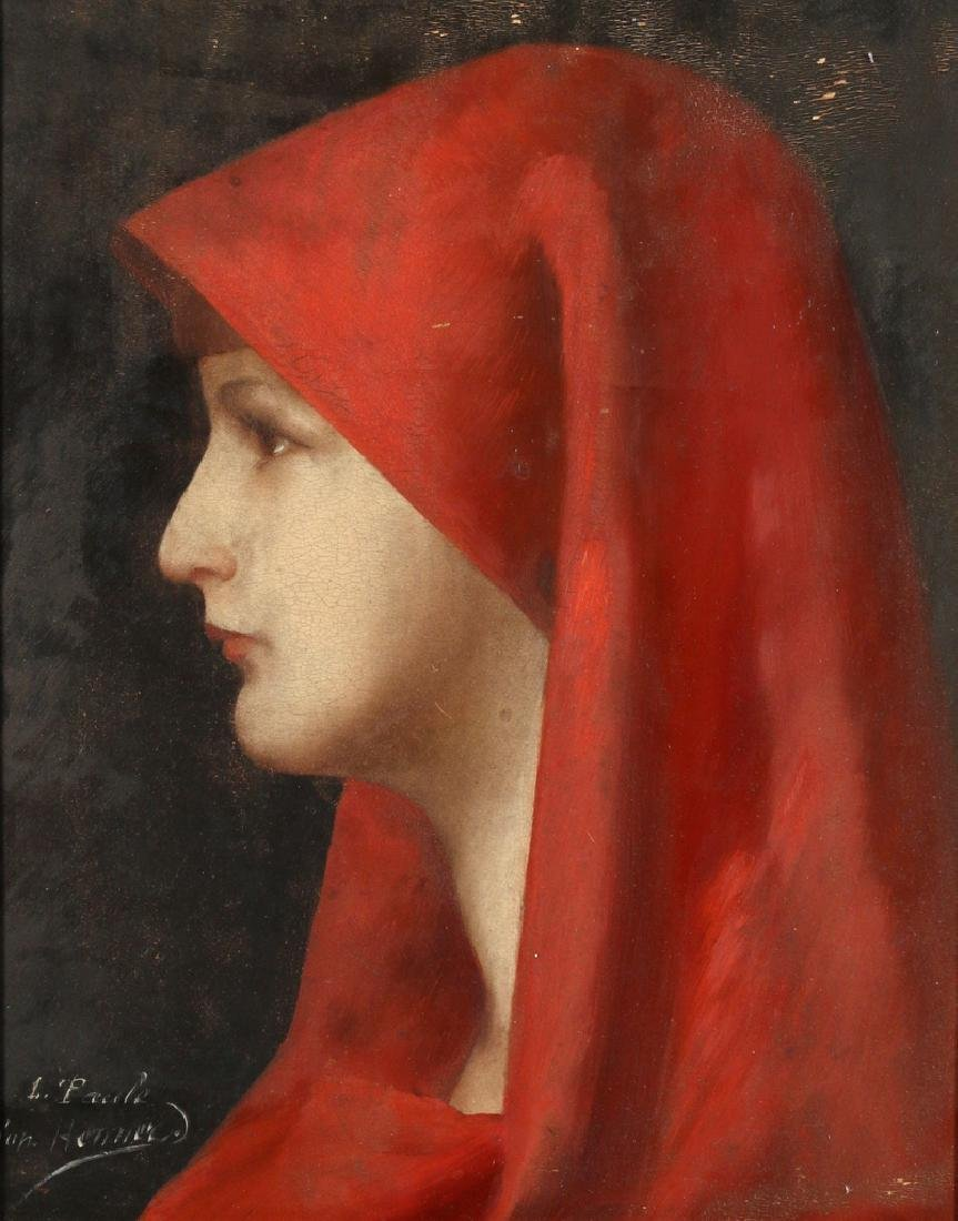 PORTRAIT OF ST. FABIOLA, 19th Century - 2