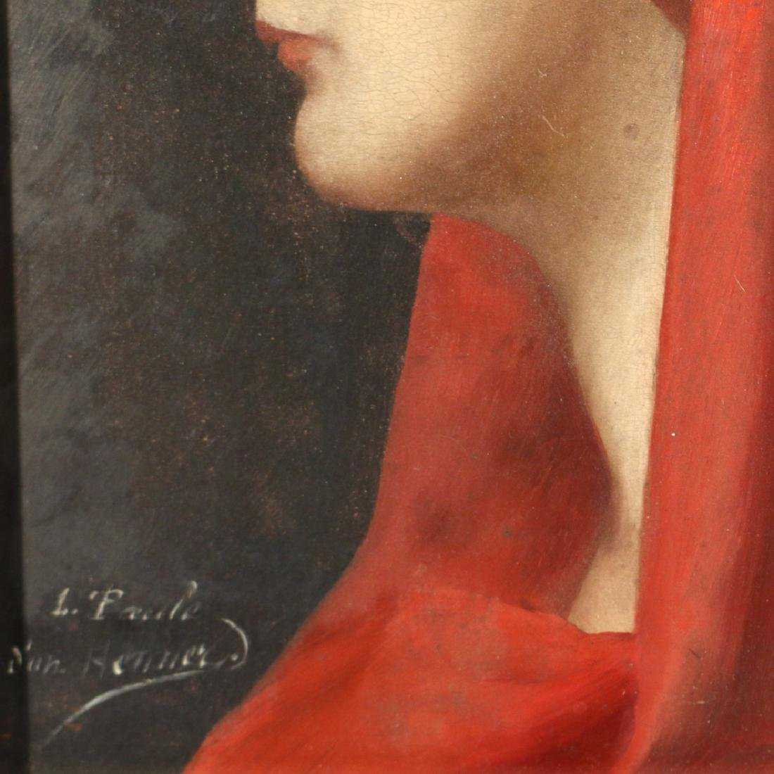 PORTRAIT OF ST. FABIOLA, 19th Century - 6