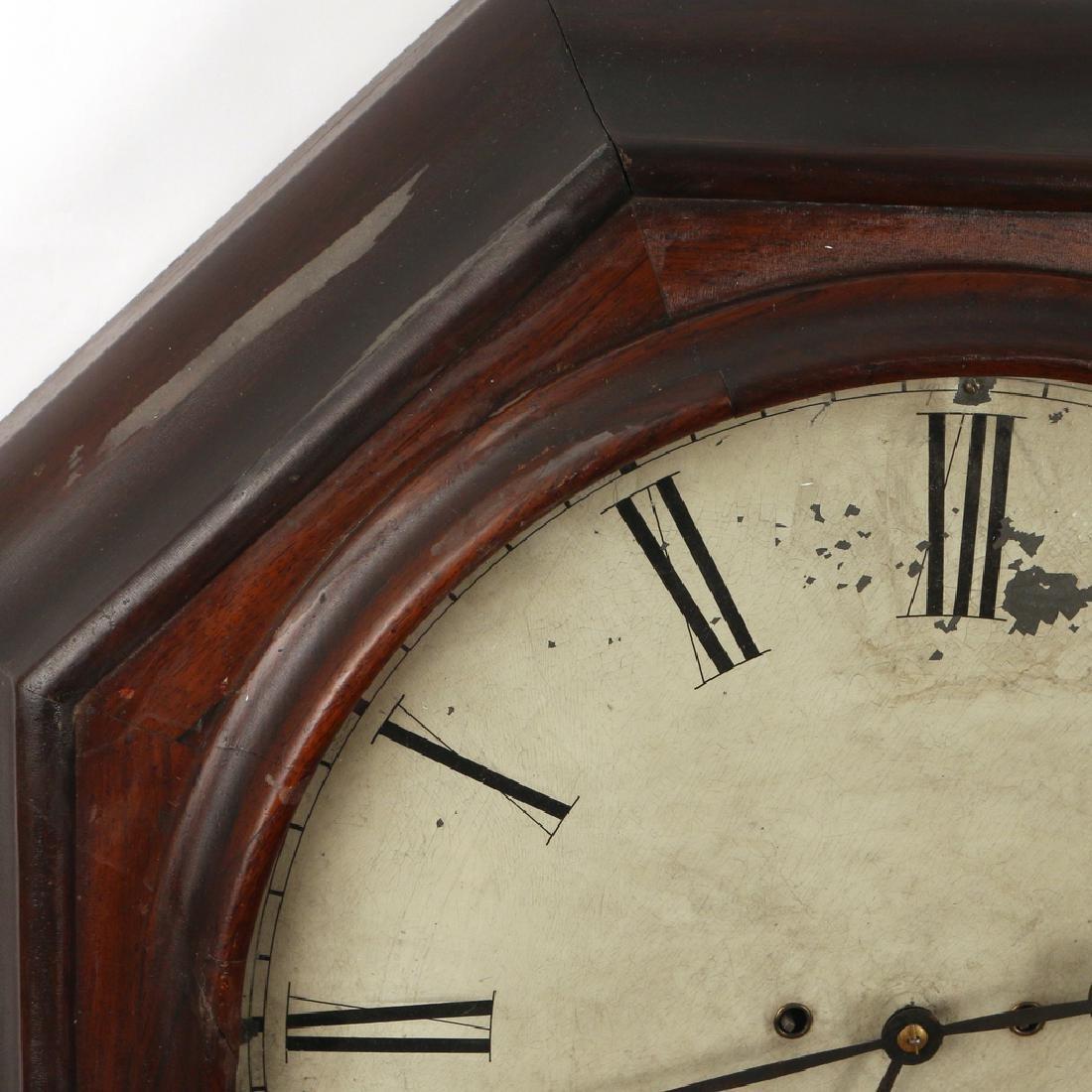 ATKINS THIRTY-DAY WAGON SPRING GALLERY CLOCK - 2
