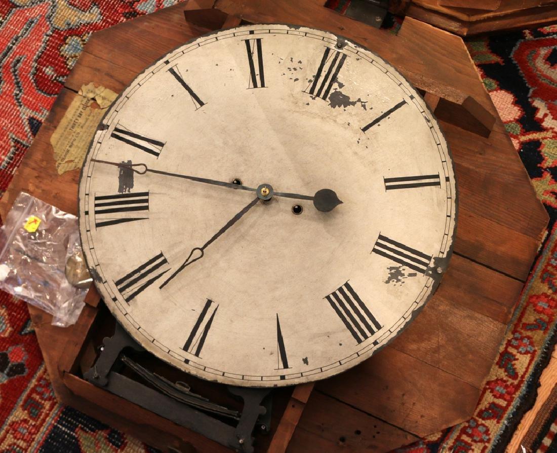 ATKINS THIRTY-DAY WAGON SPRING GALLERY CLOCK - 3